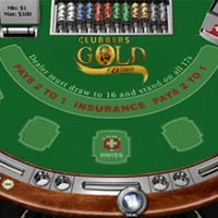 Gold Club Casino Blackjack